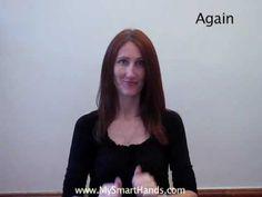 Playlist of 170+ video tutorials - ASL sign language - Laura Berg (My Smart Hands)