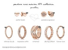 pandora rose autumn fall 2015 jewellery