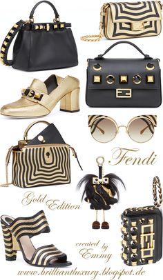 ♦Fendi Gold Edition 2017