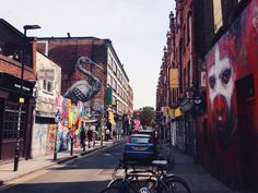 #NYU #London | Shoreditch, Brick Lane and Hoxton.