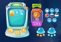 Sky Rider Hero: Crazy Aliens UI on Behance