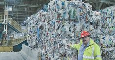 In today's bleak new reality, the price for recyclables — things like plastic, paper and aluminum — has tanked. The business model was feasible before. Now, it's a burden. Recycling Services, Recycling Facility, Recycling Programs, States Of Canada, Canada Eh, Waste Management Services, Labour Cost, Solid Waste, Western Canada