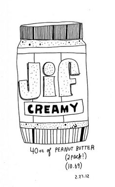 02.27.12 / two pack of Jif by kate*, via Flickr - kate bingaman burt