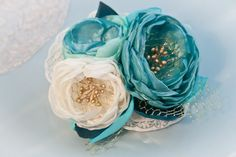 teal+gold+and+ivory :officially my wedding colors!