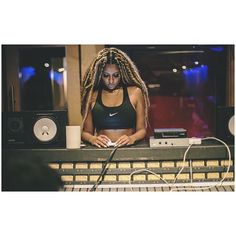 Candice Pillay in the studio! - A Blog About.....Nothin'