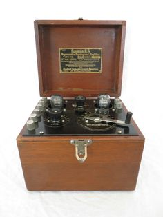 Vintage 1920s RCA Westinghouse Radiola RS Antique 2 Tube Old Amplifier Radio | eBay
