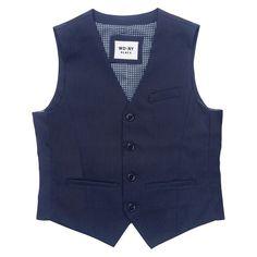 Boys' Suit Vest - Classic Navy