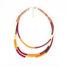 3-Strand Tribal Necklace - Dhara Jogani