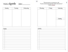 A page dedicated to listing all of my Junior-Size Discbound (Levenger Circa, Staples Arc, Office Depot Foray Revolution) Notebook templates currently available for download. I created these in MS W...