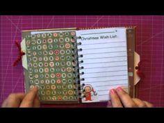 ▶ Christmas Junk Journal: For Cara at AKCaraboo - YouTube