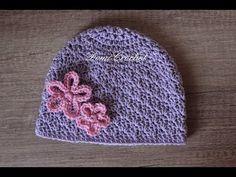 DomiCrochet - YouTube Crochet Hats, Cap, Knitting, Youtube, Fashion, Beauty, Bebe, Knitting Hats, Baseball Cap