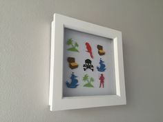 Image of Pirates - Tiny - Red, Black, Green and Blue