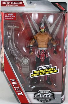 Kalisto - WWE Elite 42 Mattel Toy Wrestling Action Figure for USD25.99 #Toys #Hobbies #Action #Wrestling Like the Kalisto - WWE Elite 42 Mattel Toy Wrestling Action Figure? Get it at USD25.99!
