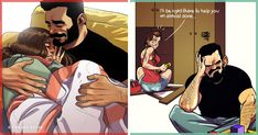 All of these illustrations are based on real moments and experiences that everybody in a relationship can relate to.