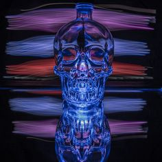 Light up the night with #CrystalHead Photography by Chris Adams