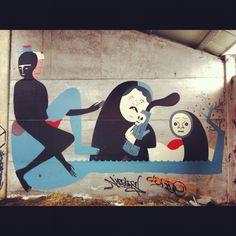 Street Art - Doel 2012