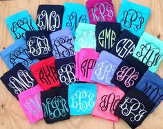 Monogrammed Bandeau Swim Top by craftsbygigi on Etsy, $25.00