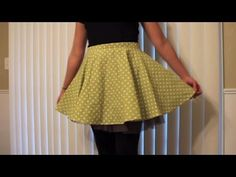Circle Skirt tutorial from Whitney Sews