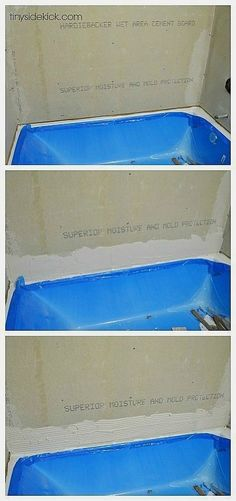 We saved so much money during our bathroom renovation by tiling our tub surround. See how to tile a tub surround in this post. Tile Tub Surround, Shower Surround, Bath Tub Surround Ideas, Toilet Surround, Basement Remodeling, Bathroom Renovations, Bathroom Makeovers, Bathroom Ideas, Bathroom Interior