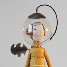 rocket from earth - ein-bleistift-und-radiergummi: Samantha Bryan Paper Dolls, Art Dolls, Instruments, Dreams And Nightmares, Little Critter, Bear Doll, Assemblage Art, Vinyl Toys, Weird And Wonderful