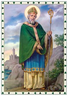 St. Patrick, San Patrizio patrono d'Irlanda