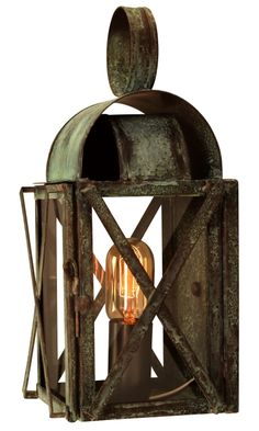 24 best wall sconce copper lanterns and outdoor wall lights by bunker hill colonial copper lantern outdoor wall light aloadofball Gallery