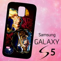 ER1202 Beauty The Beast Disney Poster Samsung Galaxy S5 case | BirlynaCase - Accessories on ArtFire
