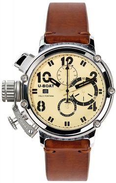 U-Boat Watch Chimera 48 925 Silver Limited Edition #bezel-fixed #bracelet-strap-leather #brand-u-boat #case-material-silver #case-width-48mm #chronograph-yes #date-yes #delivery-timescale-call-us #dial-colour-cream #gender-mens #limited-edition-yes #luxury #movement-automatic #official-stockist-for-u-boat-watches #packaging-u-boat-watch-packaging #style-dress #subcat-chimera #supplier-model-no-7107 #warranty-u-boat-official-2-year-guarantee #water-resistant-50m
