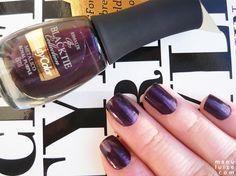 Esmalte Royal Purple da Beauty Color: Roxo metálico para o Inverno 2013 #nail #nailpolish #purple