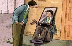 El reflejo propio