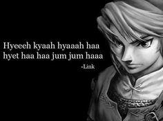 Quand Link devient poétique, c'est profond !