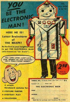 electric man robot
