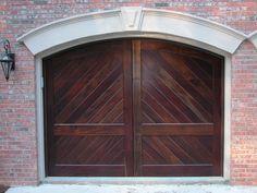 Stain Grade Carriage House Door