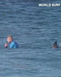 Surfer Mick Fanning Attacked by Sharks During Live Broadcast: Video - Us Weekly