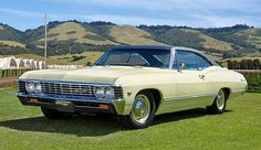 1967 Chevrolet Impala Maintenance/restoration of old/vintage vehicles: the material for new cogs/casters/gears/pads could be cast polyamide which I (Cast polyamide) can produce. My contact: tatjana.alic@windowslive.com