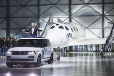 Land Rover helps Virgin Galactic lift off