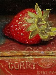 """Strawberry On An Old Cigar Box"" ... by Martin Figlinski"