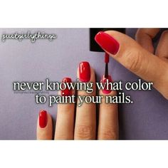 Q: What color are your nails now?