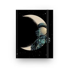 Compre Crescent moon de @digitalcarbine em cadernos de alta qualidade. Incentive artistas independentes, encontre produtos exclusivos.