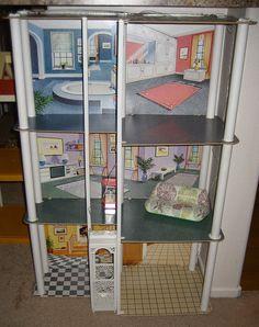 The best memories!Vintage Barbie Townhouse by siouxsiette, via Flickr