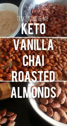 #Keto Vanilla Chai Roasted Almonds