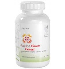 Passion Flower Potent Natural Sedative Stress Support Passion Flower Extract 900mg 90 Capsules 1 Bottle