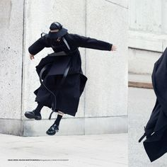 skt4ng: Total look in Craig Green AW14 featured in Rodeo Magazine