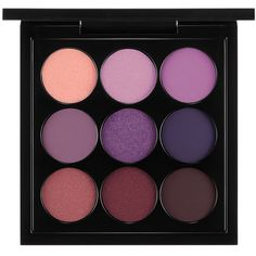 MAC Eyes x 9 Palette, Purple ($32) ❤ liked on Polyvore featuring beauty products, makeup, eye makeup, eyeshadow, beauty, eyes, cosmetics, purple times nine, mac cosmetics eyeshadow and mac cosmetics