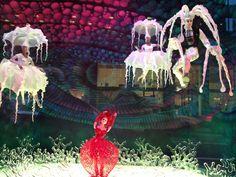 Bloomingdales animated Christmas display window  NYC