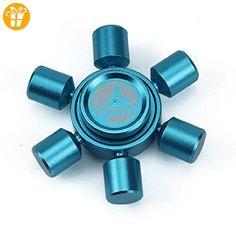 Tri-Spinner Fidget Hand Spinner, Omiky® EDC Focus Spielzeug für Kinder & Erwachsene (Blau) - Fidget spinner (*Partner-Link)