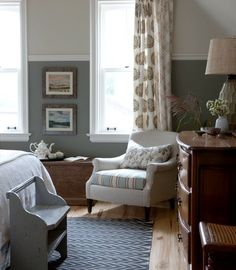 two tone bedroom ideas on pinterest two tone walls