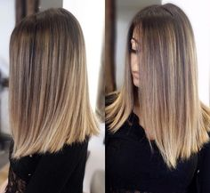 beautiful hair ideas and cuts for straight hair - Lange Haare Ideen Balayage Hair, Ombre Hair, Bayalage, Pretty Hairstyles, Straight Hairstyles, Medium Hair Styles, Short Hair Styles, Hair Color And Cut, Hair Colour