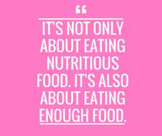 It is common for you to hear and see that it is all about eating the right foods and nutritious foods. Which is true. The food you eat is vital whatever your goal is. If you are looking to treat PCOS, balance your hormones, have better moods, more energy, better skin and hair. . But what most people don't address is that you also need to be eating enough food. #pcos #nutrition #health #healthandwellness #hormones #hormonehealth