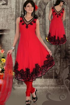 Simple, but cute anarkali salwar